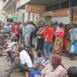 Zimbabweans sleep outside banks as cash crisis worsens