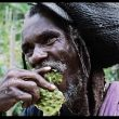 Rastafarian encounter in the Canaan Mountains, Jamaica