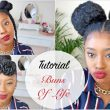Tutorial| Three 10 Minute Natural Hair Styles Buns of Life