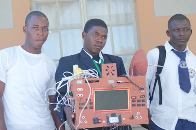 Namibian student invents SIM-free mobile phone, which doesn't use airtime