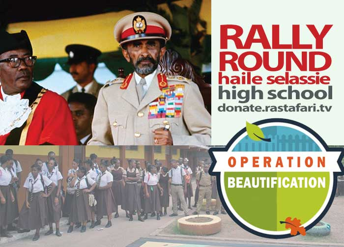 Urgent Haile Selassie High School Health, Education & Beautification Mission