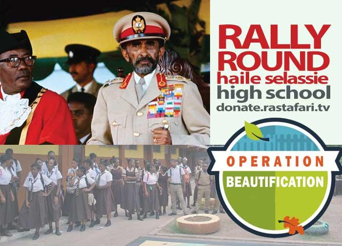 Urgent Haile Selassie High School Health, Education & Beautification Mission