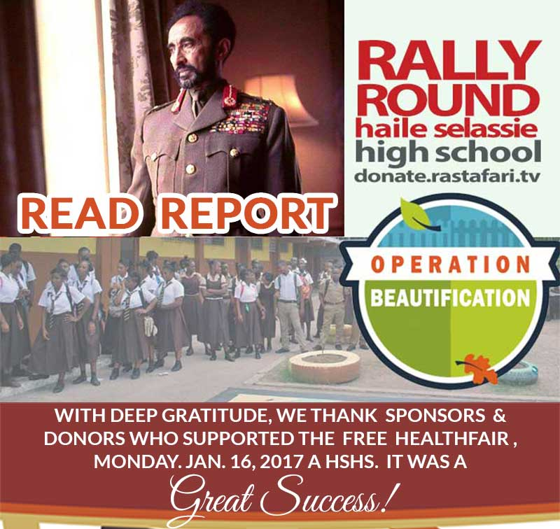 2017 FULL REPORT: Mission Haile Selassie High School What's Next?