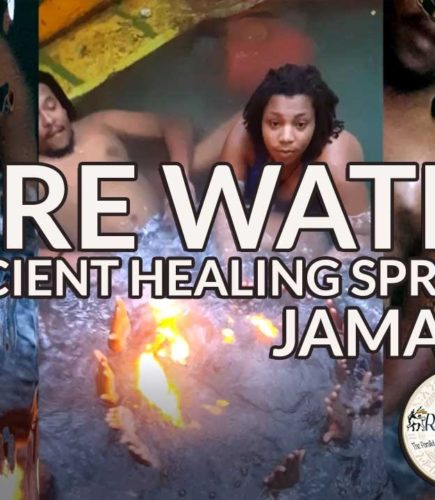 Fire Burns on Water in Jamaica – Mystical, Ancient Healing Hidden Springs
