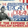 GREAT SHOCK! James Baldwin Debate American Dream at Expense of African Americans