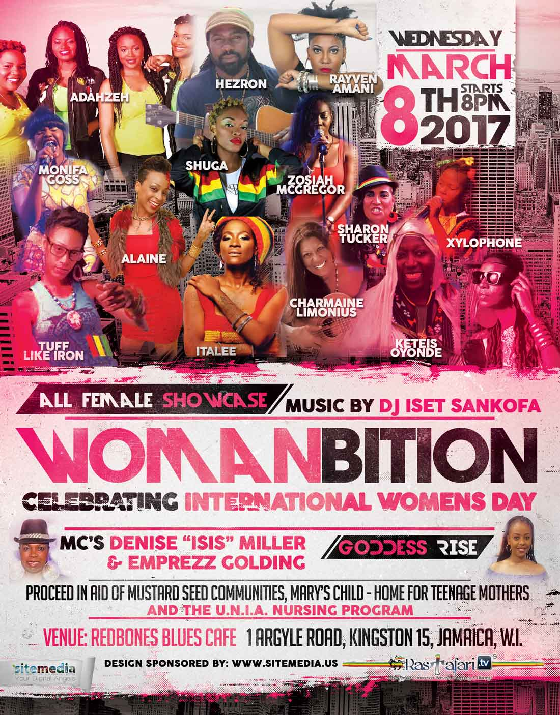 "Womanbition – ""8 Years Mission Strong"""