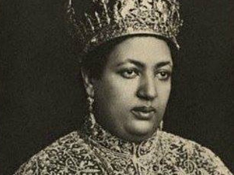 QUICK FACTS | 1883,  (Megabit 25 = April 3rd) Empress Menen was born