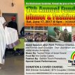 June 17, The Shashamane Foundation 17th Annual Fundraiser Dinner & Fashion Show