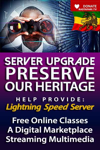 Donate RasTafari TV Server Upgrade Channels