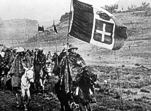 October 9, 1935 Austria & Hungary fail to apply sanctions against italy.