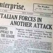 OCTOBER 3, 1935: ITALY INVADES ETHIOPIA
