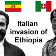 Italian invasion of Ethiopia (1935-1936)