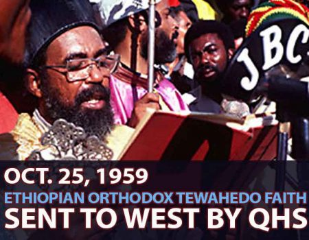 Oct. 25, 1959, Ethiopian Orthodox Tewahedo Faith Sent To West