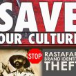 RASTAFARI! UNITE! STOP H.I.M. Brand Identity Theft by Asian Company
