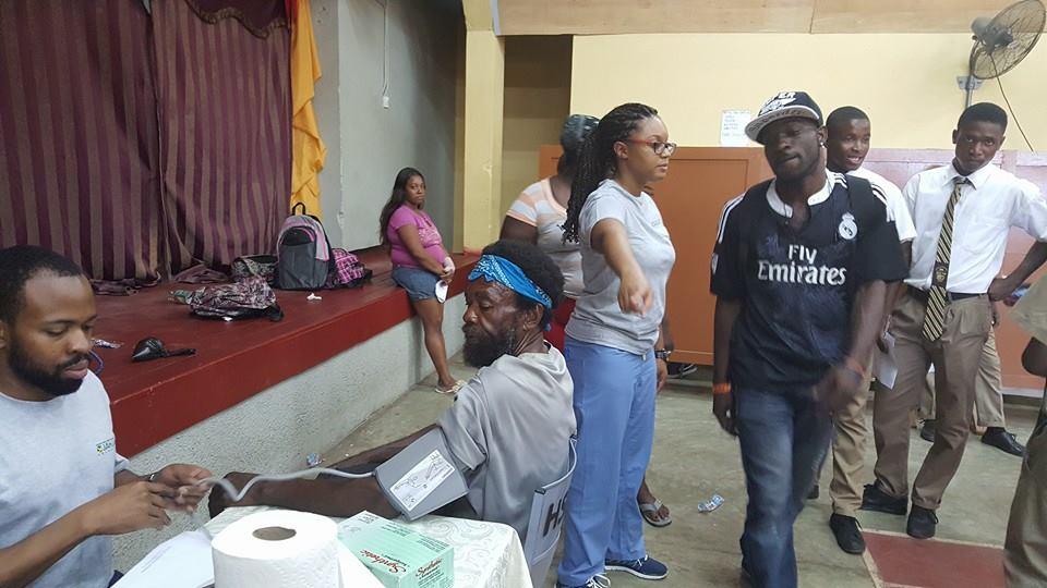 2016 Jan 18, RasTafari TV Sponsors Free Health Fair at Haile Selassie High School, JA