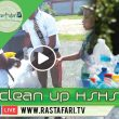 2018 Jan. 5, RasTafari TV Clean up Haile Selassie High School